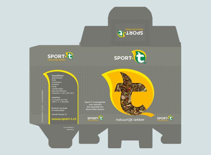 sportthee verpakking